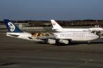 WING_ACEさんが、成田国際空港で撮影したニュージーランド航空 747-419の航空フォト(飛行機 写真・画像)