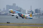 xxxxxzさんが、羽田空港で撮影した全日空 777-381の航空フォト(飛行機 写真・画像)