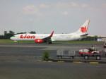 しかばねさんが、スオンド空軍基地で撮影したライオン・エア 737-9GP/ERの航空フォト(飛行機 写真・画像)