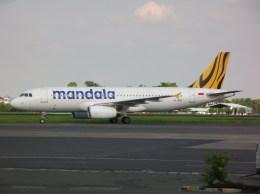 しかばねさんが、スオンド空軍基地で撮影したタイガー・マンダラ A320-232の航空フォト(飛行機 写真・画像)