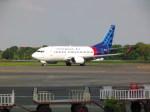 しかばねさんが、スオンド空軍基地で撮影したスリウィジャヤ航空 737-524の航空フォト(飛行機 写真・画像)