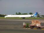 しかばねさんが、スオンド空軍基地で撮影したガルーダ・インドネシア航空 CL-600-2E25 Regional Jet CRJ-1000の航空フォト(飛行機 写真・画像)
