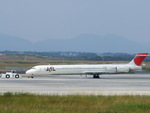 rjnsphotoclub-No.07さんが、静岡空港で撮影した日本航空 MD-90-30の航空フォト(写真)
