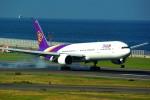 rjnsphotoclub-No.07さんが、中部国際空港で撮影したタイ国際航空 777-3D7の航空フォト(飛行機 写真・画像)