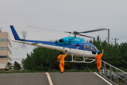kanade/Ryo@S.O.R.A.さんが、浦安ヘリポートで撮影したエクセル航空 AS355N Ecureuil 2の航空フォト(飛行機 写真・画像)