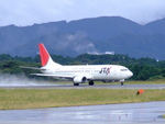 rjnsphotoclub-No.07さんが、静岡空港で撮影した日本トランスオーシャン航空 737-4Q3の航空フォト(飛行機 写真・画像)