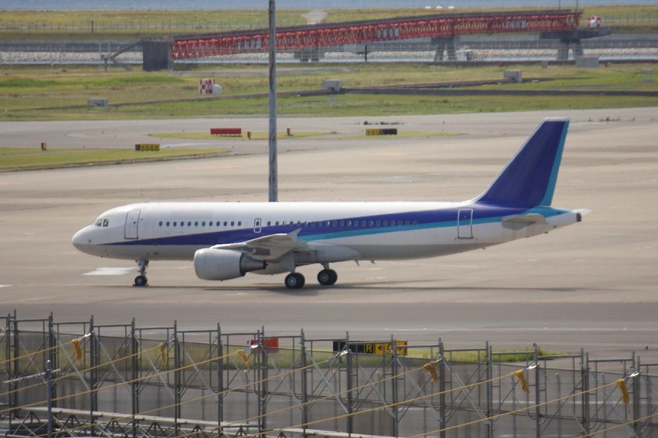 やつはしさんの全日空 Airbus A320 (JA206A) 航空フォト