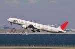 aMigOさんが、羽田空港で撮影した日本航空 777-346の航空フォト(写真)