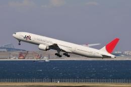 aMigOさんが、羽田空港で撮影した日本航空 777-346の航空フォト(飛行機 写真・画像)