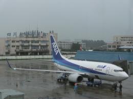shigeyaさんが、成都双流国際空港で撮影した全日空 737-781の航空フォト(飛行機 写真・画像)