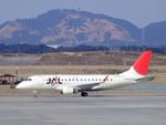rjnsphotoclub-No.07さんが、静岡空港で撮影したジェイ・エア ERJ-170-100 (ERJ-170STD)の航空フォト(飛行機 写真・画像)