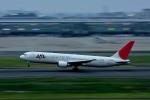 パンダさんが、羽田空港で撮影した日本航空 767-346/ERの航空フォト(写真)