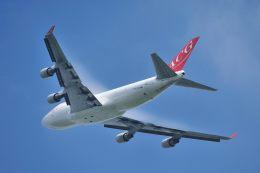 ポン太さんが、成田国際空港で撮影したエア・カーゴ・ジャーマニー 747-412(BCF)の航空フォト(飛行機 写真・画像)