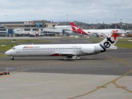 wunalaさんが、シドニー国際空港で撮影したジェットスター 717-231の航空フォト(飛行機 写真・画像)