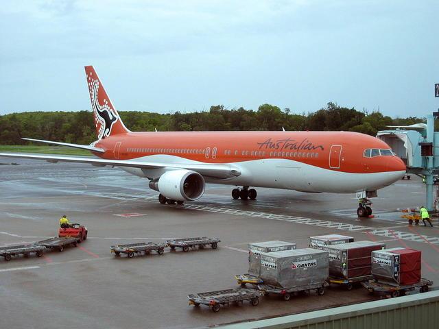 オーストラリア航空 Boeing 767-...