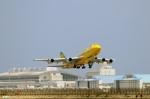 妄想竹さんが、那覇空港で撮影した全日空 747-481(D)の航空フォト(写真)
