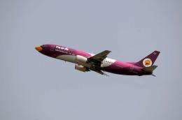 まいけるさんが、スワンナプーム国際空港で撮影したノックエア 737-4D7の航空フォト(飛行機 写真・画像)