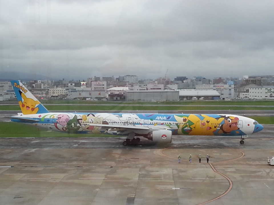 GE90777-300ERさんの全日空 Boeing 777-300 (JA754A) 航空フォト
