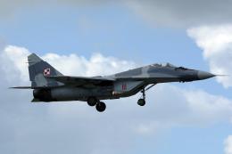 AkiChup0nさんが、フェアフォード空軍基地で撮影したポーランド空軍 MiG-29Aの航空フォト(飛行機 写真・画像)