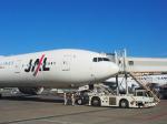 すしねこさんが、成田国際空港で撮影した日本航空 777-346/ERの航空フォト(飛行機 写真・画像)