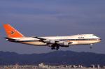 WING_ACEさんが、関西国際空港で撮影した南アフリカ航空 747-244Bの航空フォト(写真)