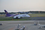 倉科なりたさんが、成田国際空港で撮影したタイ国際航空 A380-841の航空フォト(写真)