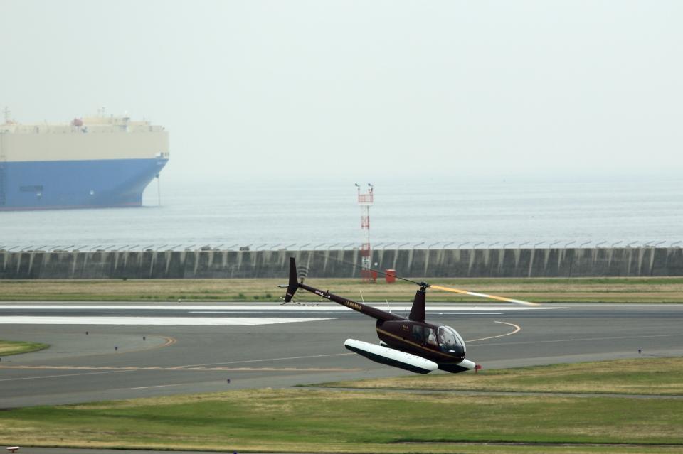 T.Sazenさんの日本個人所有 Robinson R44 (JA08MM) 航空フォト