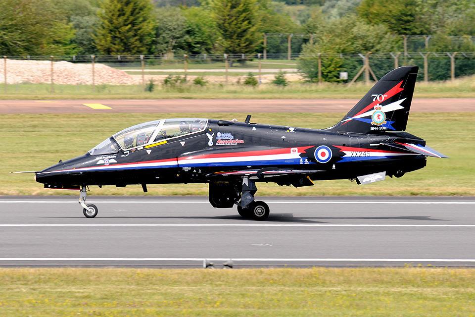 Tomo-Papaさんのイギリス空軍 BAe Hawk (XX245) 航空フォト