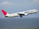 すしねこさんが、羽田空港で撮影した日本航空 767-346の航空フォト(飛行機 写真・画像)
