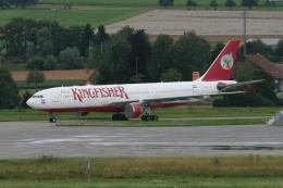 Sirius8981さんが、チューリッヒ空港で撮影したキングフィッシャー航空 A330-223の航空フォト(飛行機 写真・画像)