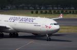 xxxxxzさんが、成田国際空港で撮影したヴァージン・アトランティック航空 A340-642Xの航空フォト(飛行機 写真・画像)