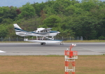 ふじいあきらさんが、広島空港で撮影した日本個人所有 T206H Turbo Stationairの航空フォト(飛行機 写真・画像)