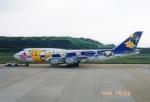 ハイローオジサンさんが、長崎空港で撮影した全日空 747-481(D)の航空フォト(飛行機 写真・画像)