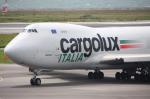 WING_ACEさんが、関西国際空港で撮影したカーゴルクス・イタリア 747-4R7F/SCDの航空フォト(飛行機 写真・画像)