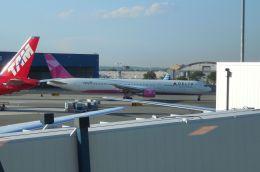 ちかぼーさんが、ジョン・F・ケネディ国際空港で撮影したデルタ航空 767-432/ERの航空フォト(飛行機 写真・画像)