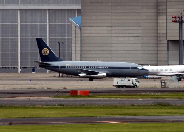 Sirius8981さんが、成田国際空港で撮影したスカイ・アヴィエーション 737-2W8/Advの航空フォト(飛行機 写真・画像)