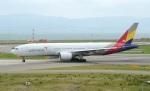 関西国際空港 - Kansai International Airport [KIX/RJBB]で撮影されたアシアナ航空 - Asiana Airlines [OZ/AAR]の航空機写真