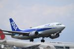 Kuuさんが、鹿児島空港で撮影したANAウイングス 737-5Y0の航空フォト(飛行機 写真・画像)