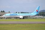Kuuさんが、鹿児島空港で撮影した大韓航空 737-9B5/ER の航空フォト(飛行機 写真・画像)