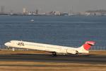 xxxxxzさんが、羽田空港で撮影した日本航空 MD-90-30の航空フォト(飛行機 写真・画像)