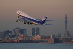 xxxxxzさんが、羽田空港で撮影した全日空 747-481(D)の航空フォト(飛行機 写真・画像)