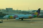 ふじいあきらさんが、羽田空港で撮影したスカイネットアジア航空 737-4H6の航空フォト(飛行機 写真・画像)