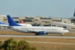 Cimarronさんが、ロサンゼルス国際空港で撮影したPLM・インターナショナル 737-2S3/Advの航空フォト(写真)