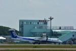 パンダさんが、稚内空港で撮影したANAウイングス DHC-8-402Q Dash 8の航空フォト(飛行機 写真・画像)