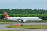 パンダさんが、新千歳空港で撮影したトランスアジア航空 A321-131の航空フォト(写真)