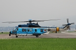 プリン賢さんが、台北松山空港で撮影した中華民国空軍 EC225LP Super Puma Mk2+の航空フォト(写真)