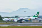 パンダさんが、函館空港で撮影したエバー航空 A330-203の航空フォト(写真)