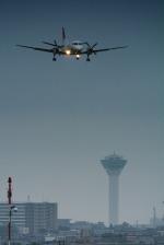 パンダさんが、函館空港で撮影した北海道エアシステム 340B/Plusの航空フォト(飛行機 写真・画像)