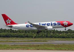 NINEJETSさんが、成田国際空港で撮影したエーデルワイス航空 A330-223の航空フォト(飛行機 写真・画像)