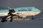 WING_ACEさんが、関西国際空港で撮影した大韓航空 747-4B5の航空フォト(飛行機 写真・画像)